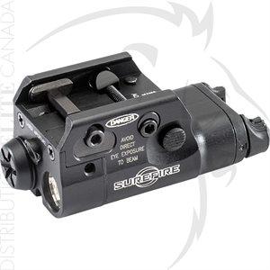 SUREFIRE COMPACT LIGHT LASER 5mW 635nM RED 1.5V ALUM - BLK
