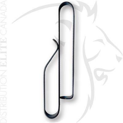 ZAK TOOL LOW PROFILE KEY RING HOLDER (FITS 2.25 BELT) - BLK