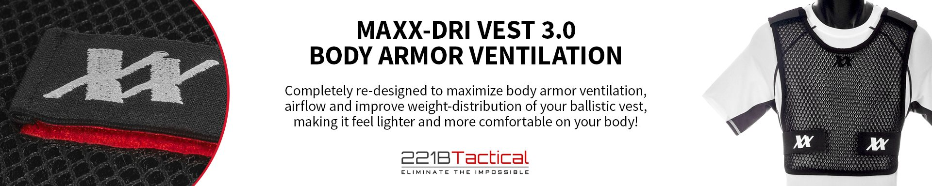 221B Tactical - Maxx-Dri Vest 3.0