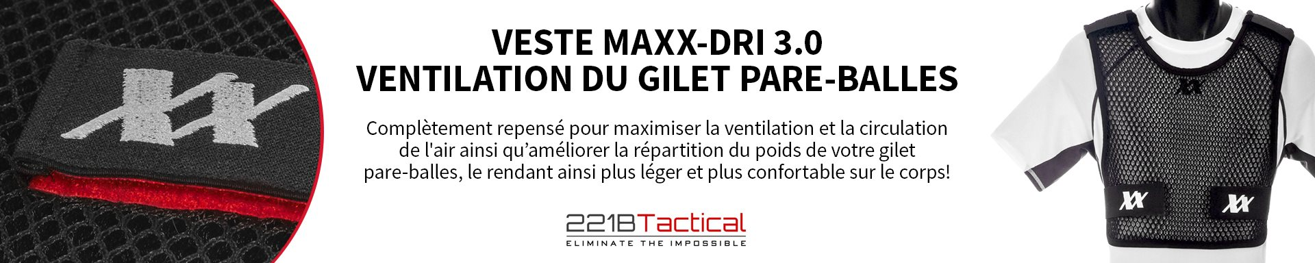 221B Tactical - Veste Maxx-Dri 3.0